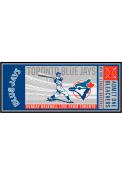 Toronto Blue Jays 30x72 Ticket Runner Interior Rug