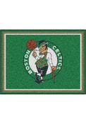 Boston Celtics 8x10 Plush Interior Rug