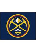 Denver Nuggets 34x42 Starter Interior Rug