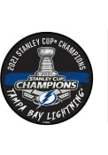 Tampa Bay Lightning 2021 Stanley Cup Champions Puck Interior Rug