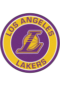 Los Angeles Lakers 27 Roundel Interior Rug
