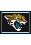 Jacksonville Jaguars 8x10 Plush Interior Rug