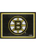 Boston Bruins 8x10 Plush Interior Rug