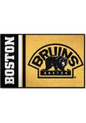 Boston Bruins 19x30 Uniform Starter Interior Rug
