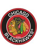 Chicago Blackhawks 27 Roundel Interior Rug