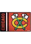 Chicago Blackhawks 19x30 Uniform Starter Interior Rug