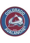 Colorado Avalanche 27 Roundel Interior Rug