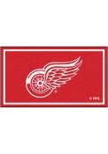 Detroit Red Wings 3x5 Plush Interior Rug