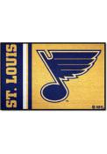 St Louis Blues 19x30 Uniform Starter Interior Rug