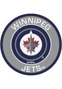 Winnipeg Jets 27 Roundel Interior Rug