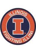 Illinois Fighting Illini 27 Roundel Interior Rug