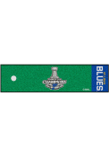 St Louis Blues 2019 Stanley Cup Champions 18x72 Putting Green Runner Interior Rug