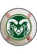 Colorado State Rams Baseball Interior Rug