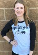 Wichita State Shockers Womens Alumni White LS Tee