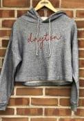 Dayton Flyers Womens Coastal Terry Hooded Sweatshirt - Navy Blue