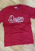 Dayton Flyers Womens Mom T-Shirt - Red