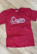 Dayton Flyers Womens Grandma T-Shirt - Red