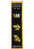 Missouri Western Griffons 8x32 Heritage Banner