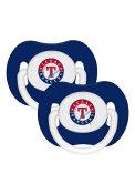 Texas Rangers Baby 2 Pack Pacifier - Blue