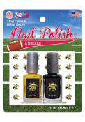 Wichita State Shockers Nail Polish and Decal Set Cosmetics