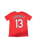 Matt Carpenter St Louis Cardinals Youth Player T-Shirt - Red
