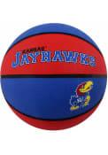 Kansas Jayhawks Rubber Basketball