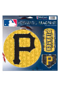 Pittsburgh Pirates Prismatic 11x11 Magnet
