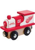 Detroit Red Wings Wooden Train