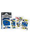 St Louis Blues Logo Playing Cards