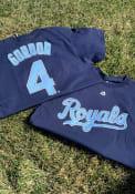 Alex Gordon Kansas City Royals Navy Blue Alex Gordon Player Tee