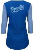 Majestic Kansas City Royals Womens Blue Above Average T-Shirt