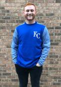 Kansas City Royals Majestic On-Field Tech Sweatshirt - Blue