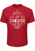 Majestic Detroit Red Wings Red Expansion Draft Tee