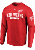 Detroit Red Wings Majestic Keep Score T Shirt - Red