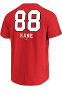 Patrick Kane Chicago Blackhawks Red Underdog Player Tee
