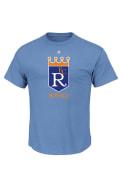 Majestic Kansas City Royals Blue Cooperstown Logo Tee