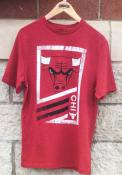Chicago Bulls Majestic Flex Classic T Shirt - Red