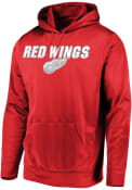 Detroit Red Wings Majestic High Energy Hood - Red