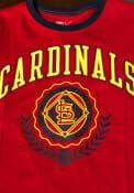 St Louis Cardinals Womens Nike Boycut T-Shirt - Red