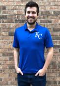 Kansas City Royals Majestic Positive Production Polo Shirt - Blue