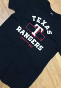 Texas Rangers Majestic Primary Objective T Shirt - Black