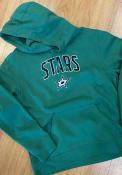 Dallas Stars Engage Arch Hooded Sweatshirt - Kelly Green
