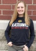 Chicago Blackhawks Engage Stack T-Shirt - Black