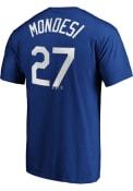 Adalberto Mondesi Kansas City Royals Majestic Name Number T-Shirt - Blue