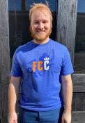 FC Cincinnati Winged Initials Fashion T Shirt - Blue