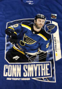 Ryan O'Reilly St Louis Blues Net Front Conn Smythe T-Shirt - Blue