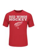 Majestic Detroit Red T-Shirt