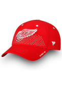 Detroit Red Wings 2018 Authentic Pro Draft Flex Hat - Red