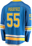 Colton Parayko St Louis Blues Breakaway Alternate Hockey Jersey - Blue