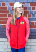 Chicago Blackhawks Womens M2M Full Zip Jacket - Red
